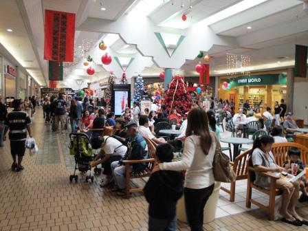 Hilo mall crowds black Friday